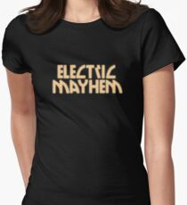 Electric Mayhem Womens Fitted T-Shirt
