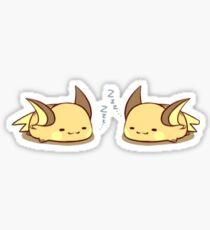 Raichus Asleep Sticker