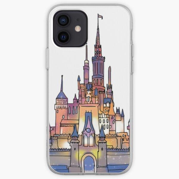 Watercolor Castle iPhone Soft Case
