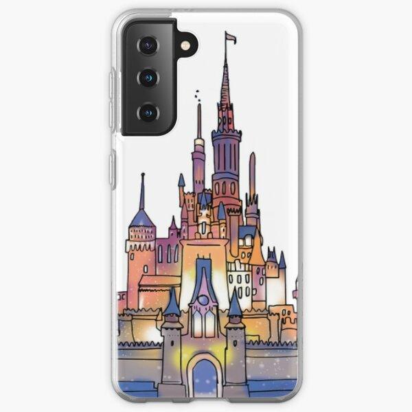 Watercolor Castle Samsung Galaxy Soft Case