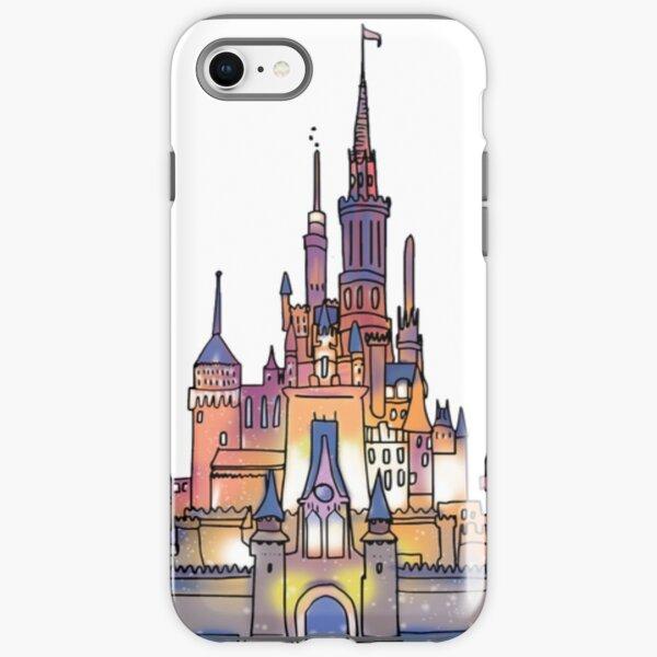 Watercolor Castle iPhone Tough Case