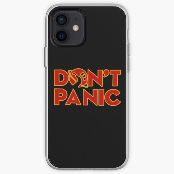 Don't panic The Hitchhiker's Guide to the Galaxy iPhone Soft Case