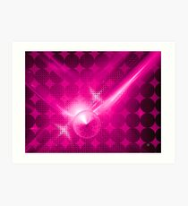 Pretty and Pink Art Print