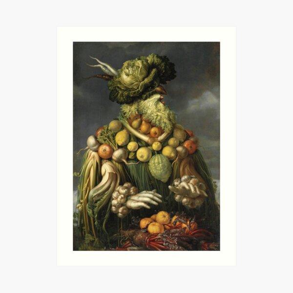 Giuseppe Arcimboldo - Autumn Beard Man Art Print