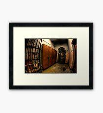 Maitland Gaol Locker Room Framed Print