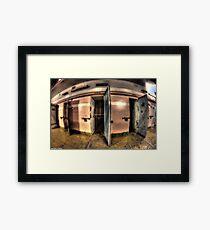 Maitland Gaol Cell Room Framed Print