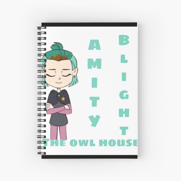 Amity blight/The owl house  Spiral Notebook