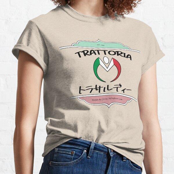 Trattoria Trussardi Logo Jojo's Bizarre Adventure  Classic T-Shirt