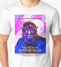 English-USA poster of La maldición de la bestia Unisex T-Shirt