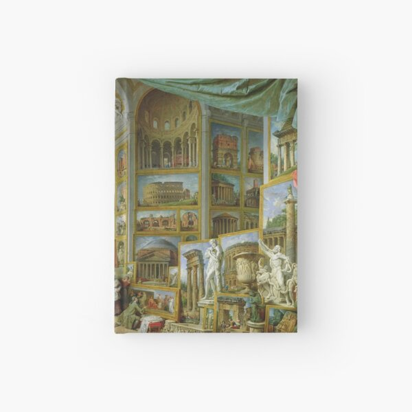 Giovanni Paolo Panini - Gallery Of Views Of Ancient Rome Hardcover Journal