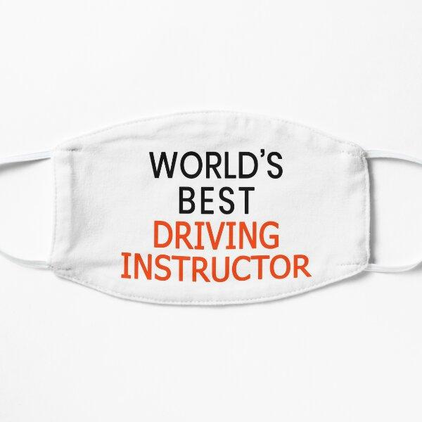 El mejor instructor de manejo del mundo Mascarilla plana