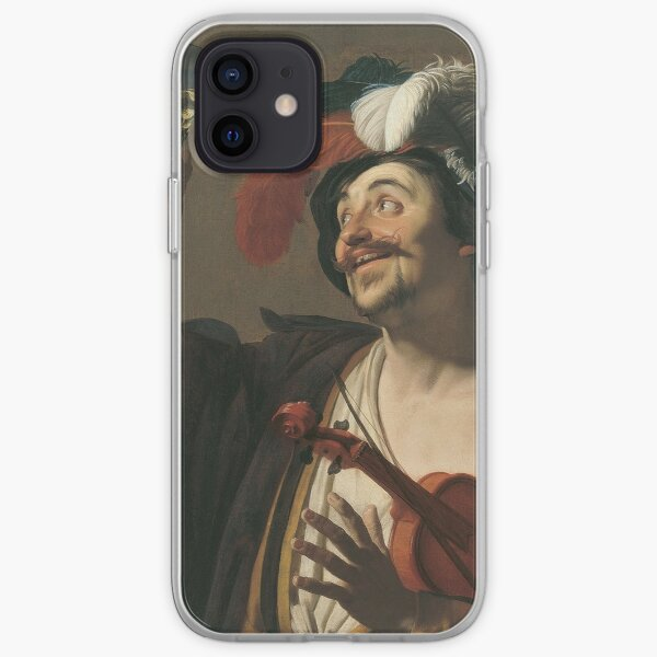 Gerrit Van Honthorst - The Happy Violinist iPhone Soft Case