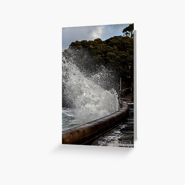 Waves at Queenscliff 2 Greeting Card