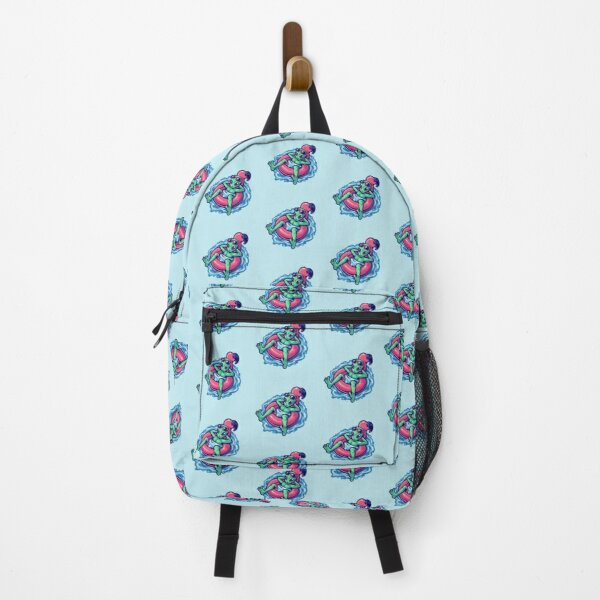 Alien Summer Holyday Character Backpack