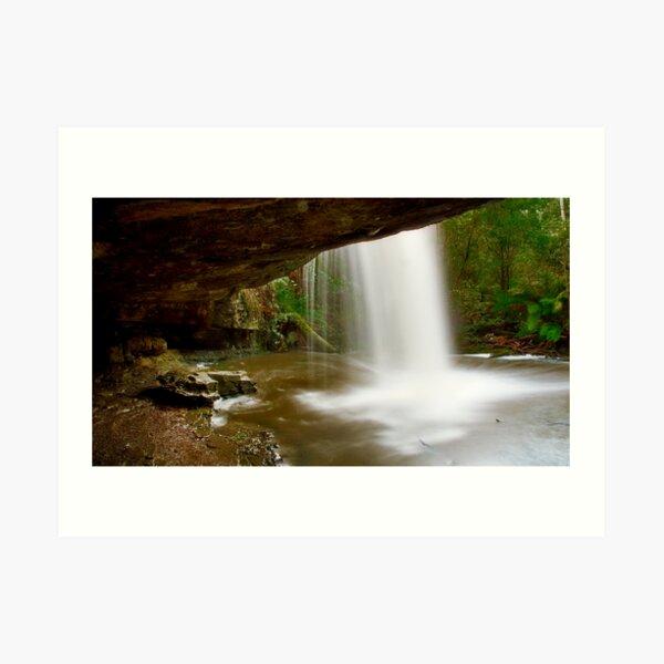 """Under The Falls"" Art Print"