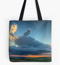 Sunset In The Berg Tote Bag