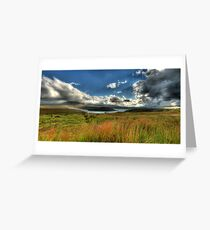 U-Bend Panoramic Greeting Card