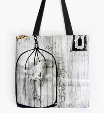 Open all the Cages Tote Bag