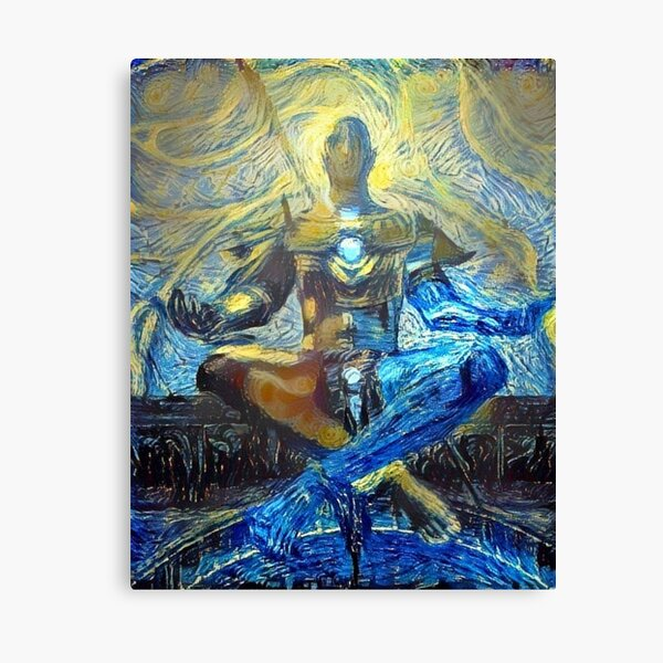 Vivec Morrowind Starry Night Canvas Print