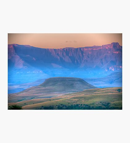 Early Misty Morn Photographic Print