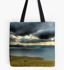 A River Thru The Berg Panoramic Tote Bag