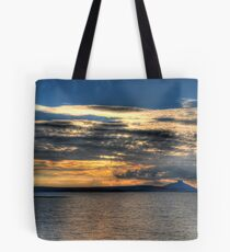 And Down It Goes II Tote Bag