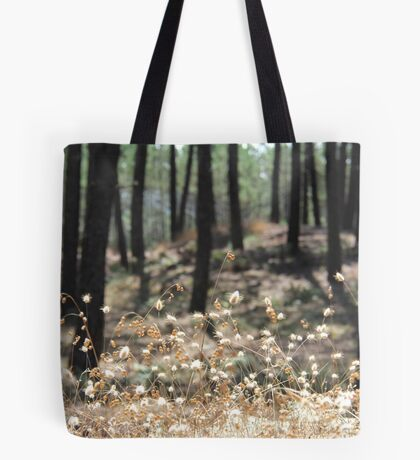 Fluffy Grass #4 Tote Bag
