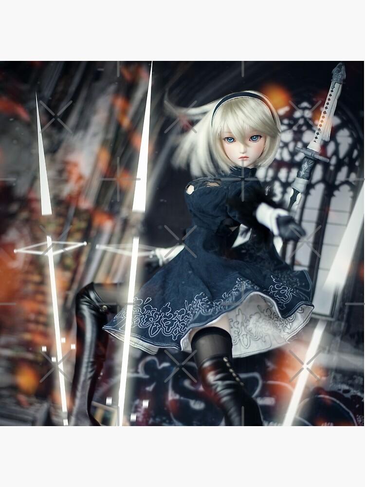 2B Nier:Automata Dollfie Dream Doll by DollMoon