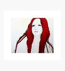 Ivory Flame Photographic Print