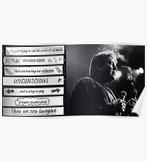 Bill Hicks - Fevered Egos Poster