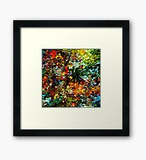 modern composition 27 by rafi talby Framed Print