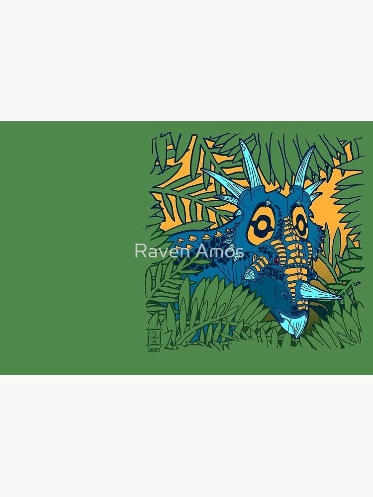 Styracosaurus Jungle by alaskanime