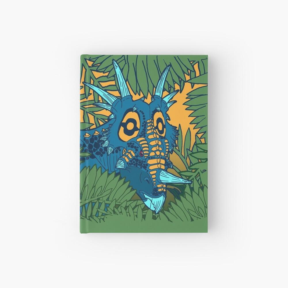 Styracosaurus Jungle Hardcover Journal