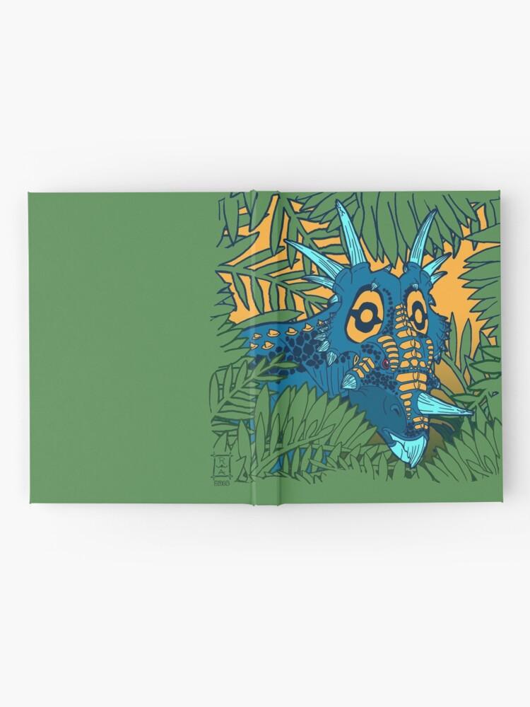 Alternate view of Styracosaurus Jungle Hardcover Journal