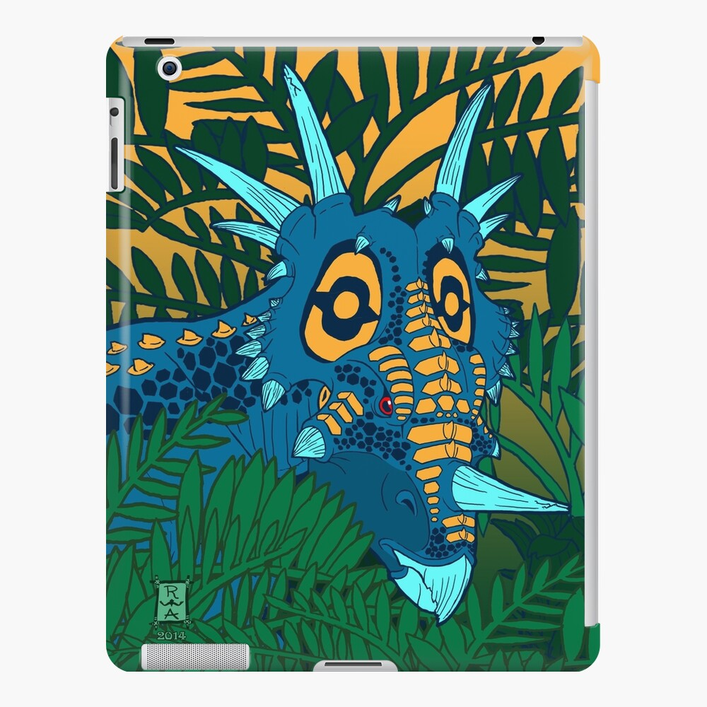 Styracosaurus Jungle iPad Case & Skin