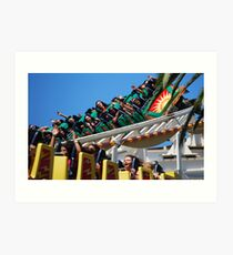 California Screamin'! Art Print