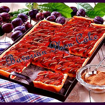 Bavarian Plum Cake by angel1