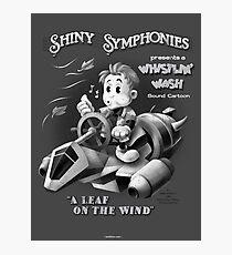 Shiny Symphonies: Whistlin' Wash Photographic Print