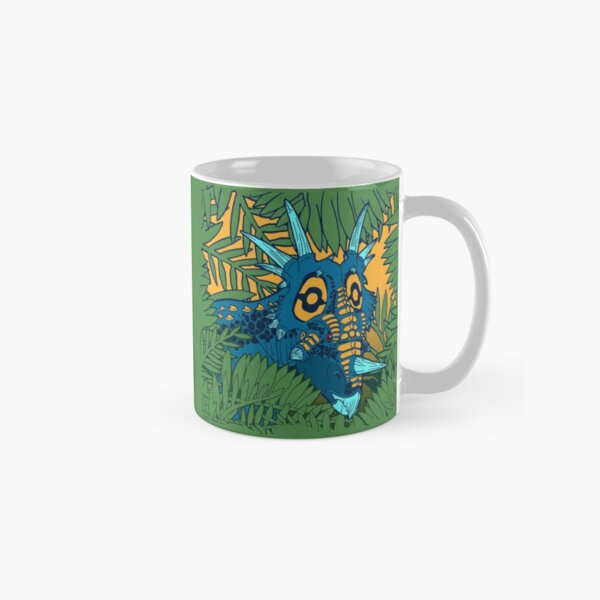 Styracosaurus Jungle Classic Mug