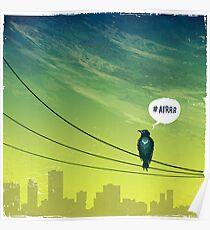 Bird on Wire Poster
