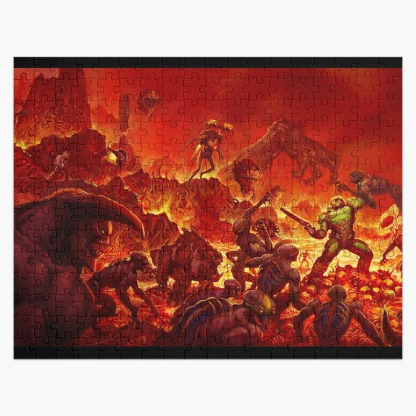 Doom Wallpaper Jigsaw Puzzle