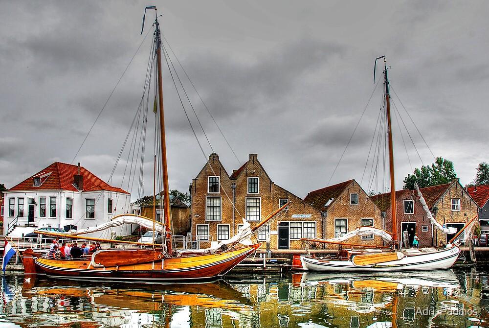 English Quay, Zierikzee by Adri  Padmos