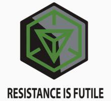 Resistance Is Futile Ingress Enlightened Design | Unisex T-Shirt