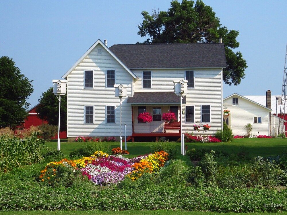 Amish Country Home by lorilee