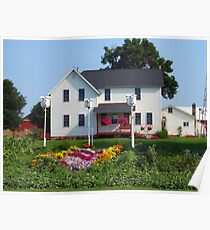 Amish Country Home Poster
