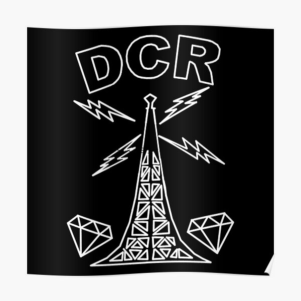Diamond city radio high quality Poster