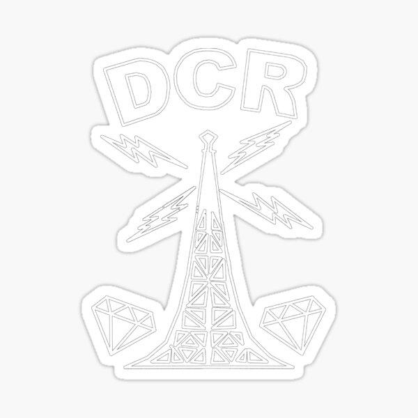 Diamond city radio high quality Sticker