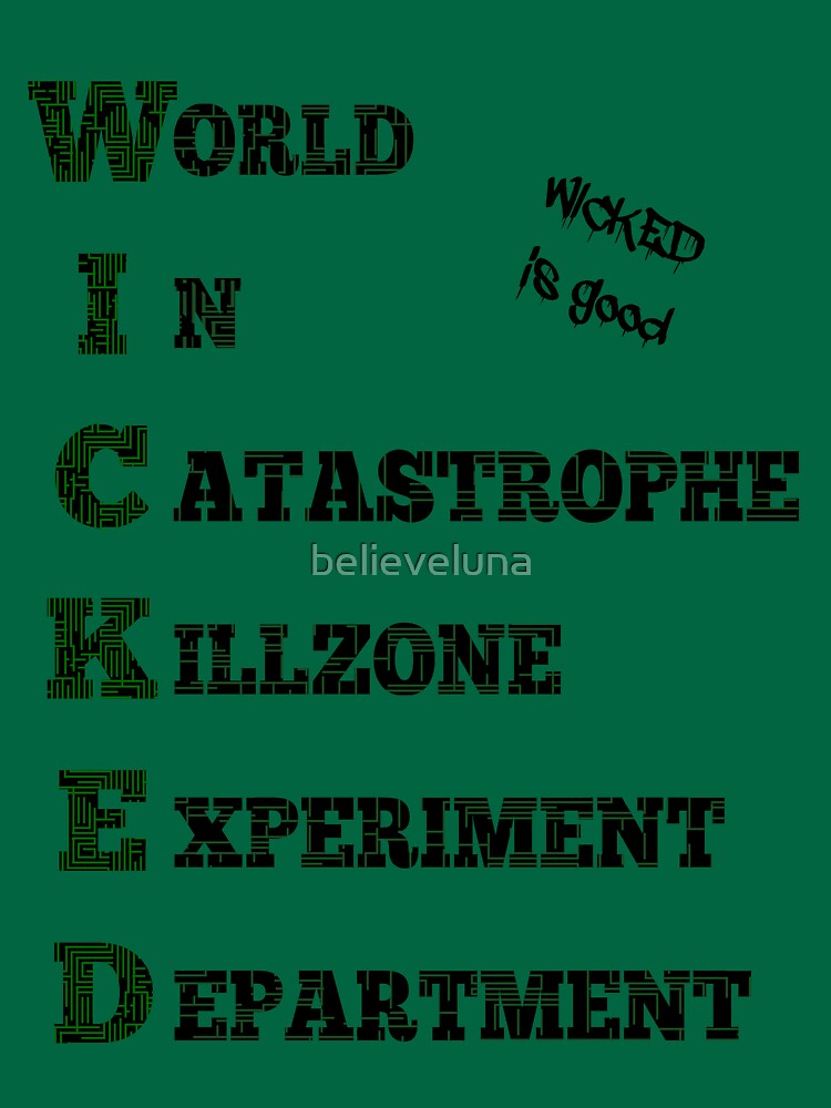 WICKED - The Maze Runner | Unisex T-Shirt