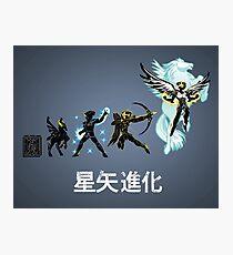 Seiya Evolution Photographic Print
