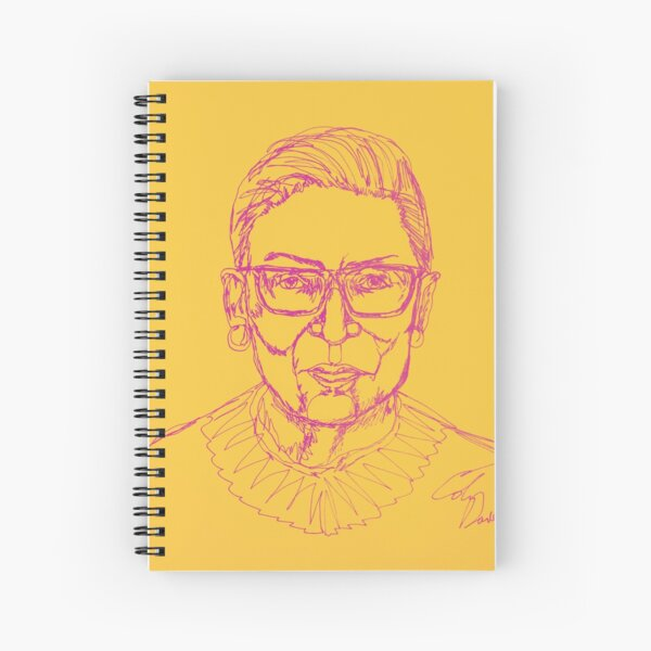 RBG Icon Spiral Notebook